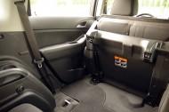 Chevrolet Orlando złożone siedzenia
